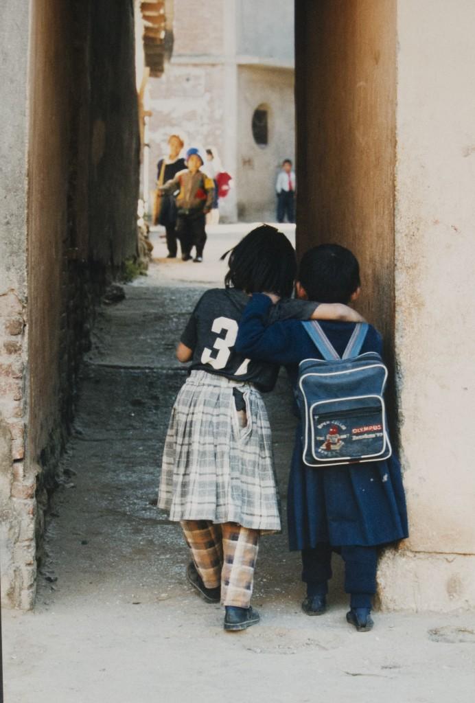 Katmandu la scuola