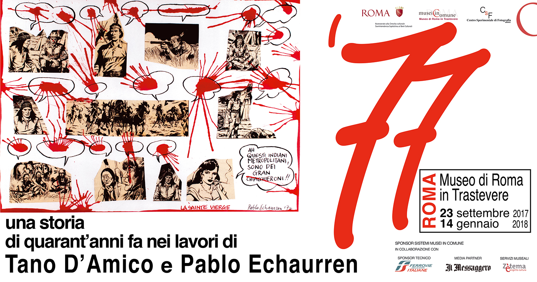 '77 una storia di quarant'anni fa nei lavori di Tano D'Amico e Pablo Echaurren